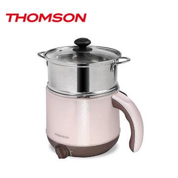 【拆封品】THOMSON 雙層防燙不鏽鋼多功能美食鍋