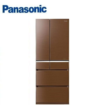 Panasonic 608公升頂級ECONAVI六門變頻冰箱(NR-F611VG-T1(翡翠棕))
