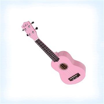 KAKA 21吋高音烏克麗麗-粉紅(KUS-101)