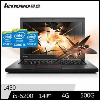 LENOVO ThinkPad L450 Ci5 4G Win7 Pro(L450/20DT0006TW)