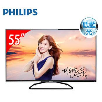 【全新福利品】PHILIPS 55型低藍光LED顯示器