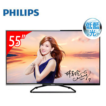 PHILIPS 55型低藍光LED顯示器