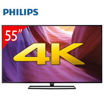 PHILIPS 55型 4K LED智慧型顯示器(55PUH6600/96(視162681))