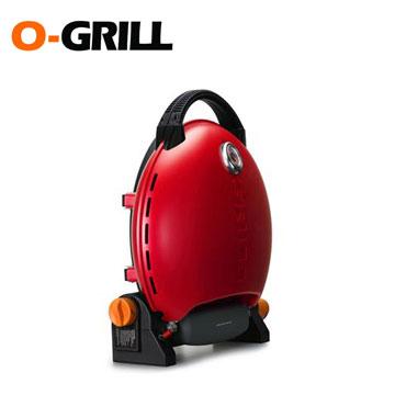 O-Grill 美式時尚可攜式瓦斯烤肉爐(熱情紅)(O-Grill 3000T)