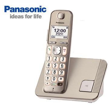 Panasonic中文顯示大字鍵數位無線電話(KX-TGE210TWN)
