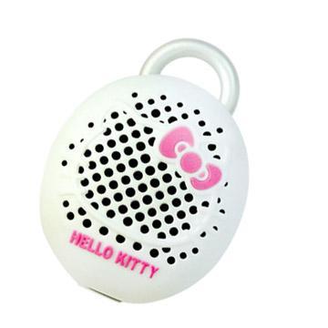 HELLO KITTY BEAN 藍牙無線喇叭-白粉(HELLO KITTY BEAN)