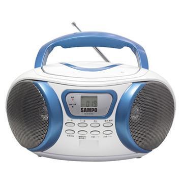 【福利品】 SAMPO手提MP3音響(AK-W1303ML)
