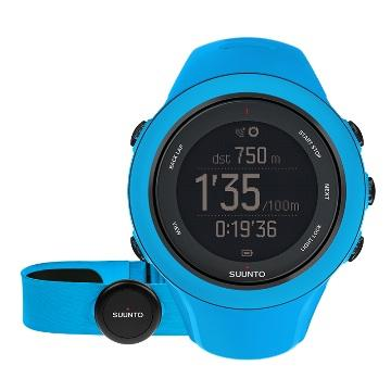Suunto Ambit3 Sport HR進階多項運動GPS腕錶-藍(Ambit3 Sport HR)