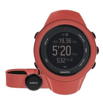 Suunto Ambit3 Sport HR進階多項運動GPS女用腕錶-紅(Ambit3 Sport HR)