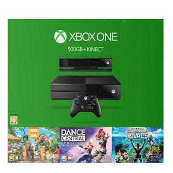 XBOX ONE + Kinect 派對組(黑)