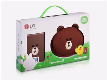 LG LINE FRIENDS 限定版口袋相印機 PD239SF   快3網路商城~燦坤實體守護