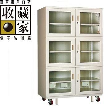收藏家 專業級六門式電子防潮櫃 1314公升(AXH-1280)