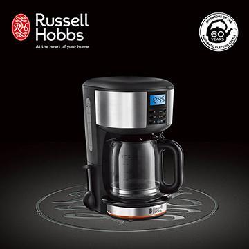 Russell Hobbs 英國羅素 Legacy 晶亮咖啡機(20681TW (晶亮銀))
