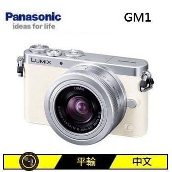 Panasonic GM1 可交換式鏡頭相機KIT-白(12-32mm (中文平輸))
