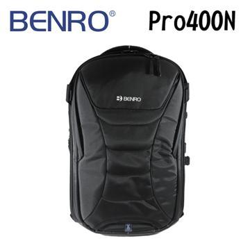 BENRO 百諾 RANGER PRO 400N 遊俠系列 雙肩攝影後背包 (勝興公司貨) 黑色(PRO 400N 黑)