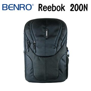 BENRO 百諾 REEBOK 200N 銳步系列 雙肩攝影後背包 (勝興公司貨) 黑色(REEBOK 200N)