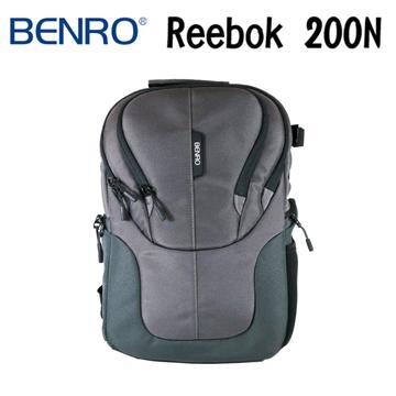 BENRO 百諾 REEBOK 200N 銳步系列 雙肩攝影後背包 (勝興公司貨) 灰色(REEBOK 200N)