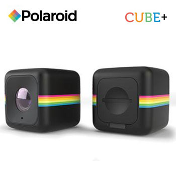 Polaroid Cube+ 運動攝影機-黑(Cube+ (黑))