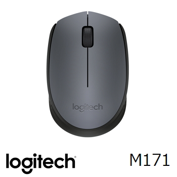 羅技M171無線滑鼠-黑(910-004660)
