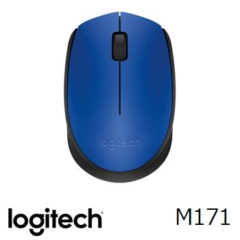 羅技M171無線滑鼠-藍(910-004661)
