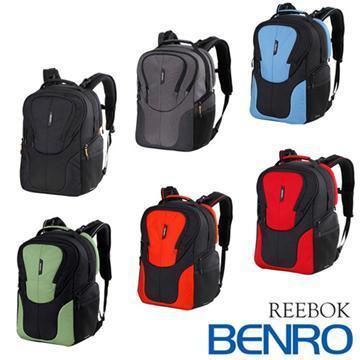 BENRO 百諾 REEBOK 300N 銳步系列 雙肩攝影後背包 (勝興公司貨) 黑色(REEBOK 300N-黑)