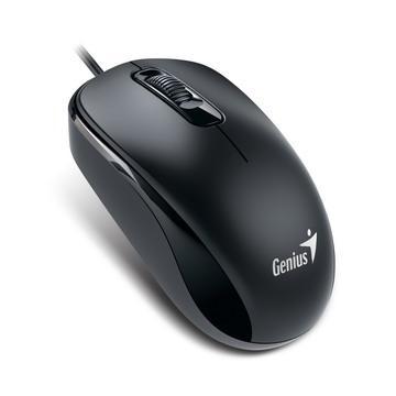 Genius 有线鼠标-宁静黑