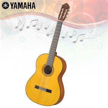 YAMAHA 亮面單板雲杉木古典吉他(CG142S)