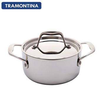 TRAMONTINA Gourmet 24公分雙耳大湯鍋5.9L