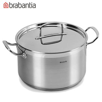 荷蘭BRABANTIA Favourite系列不鏽鋼24公分雙耳湯鍋(小)