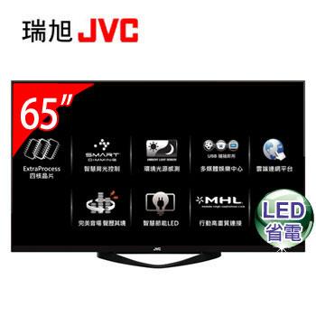 【福利品】 JVC 65型 LED智慧聯網顯示器(65F(視155370))