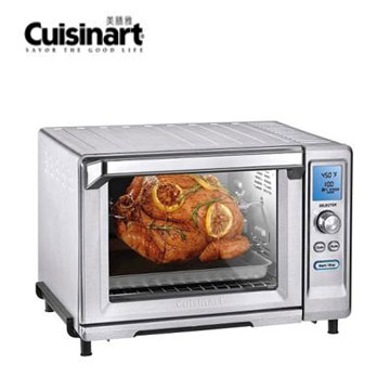 Cuisinart 22L微電腦不鏽鋼旋風式烤箱