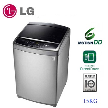 LG 15公斤6-MOTION DDD變頻洗衣機(WT-D156VG)