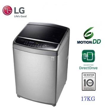 LG 17公斤6-MOTION DDD變頻洗衣機(WT-D176VG)