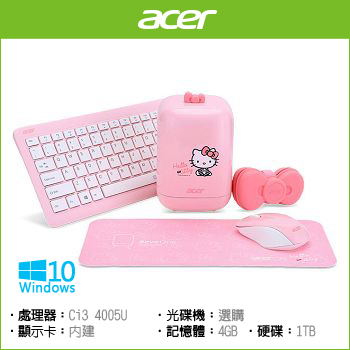 ACER RL85 Ci3 Graphics 5500 限量版迷你桌上型電腦(RL85粉紅Hello Kitty)