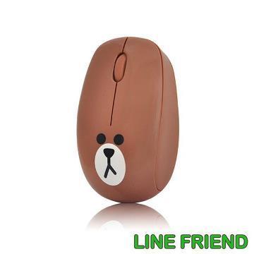 LINE無線滑鼠-熊大(MA06-BROWN)