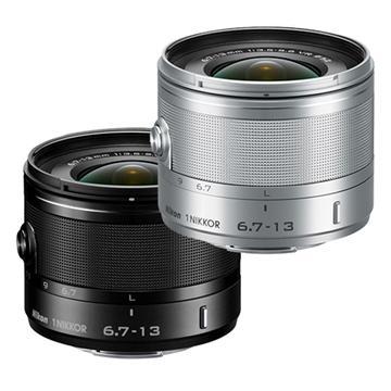 Nikon 1 NIKKOR VR 6.7-13mm F3.5-5.6 -銀(6.7-13mm (公司貨))
