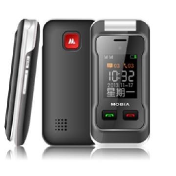 MOBIA M500 2.4吋雙卡雙待3G孝親機(黑)(M500-b黑)