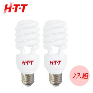 HTT省電燈泡(白光) -2入組(C-23W)