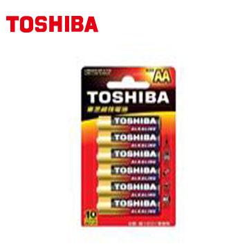 東芝鹼3號電池6入卡裝(LR6GCR BP-6TW)