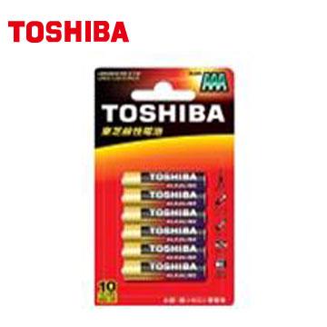 東芝鹼4號電池6入卡裝(LR3GCR BP-6TW)