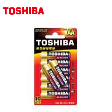 東芝鹼3號電池8入卡裝(LR6GCR BP-8TW)
