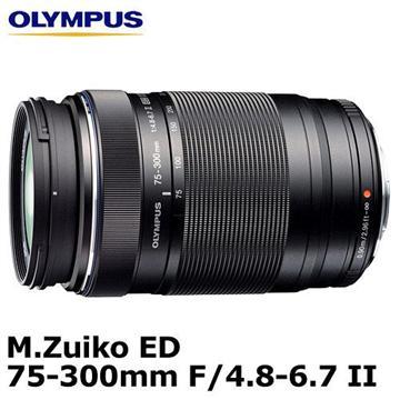 OLYMPUS M.ZUIKO ED 75-300mm F4.8-6.7 II(75-300mm (公司貨))
