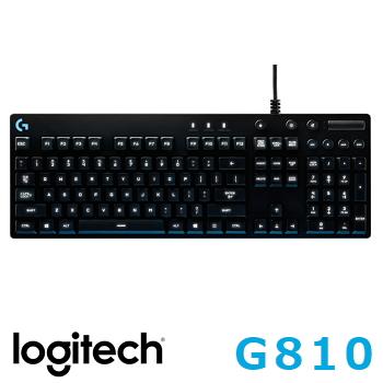 罗技 Logitech G810 ORION SPECTRUM RGB机械游戏键盘(920-007762)