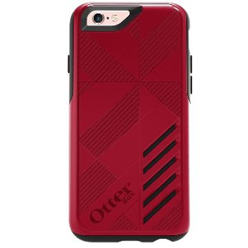 iPhone 6s Plus OtterBox Achiever 防摔殼-紅黑(77-52887)