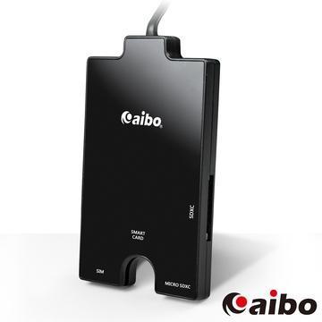 aibo黑鑽石ATM晶片+記憶卡多合一讀卡機