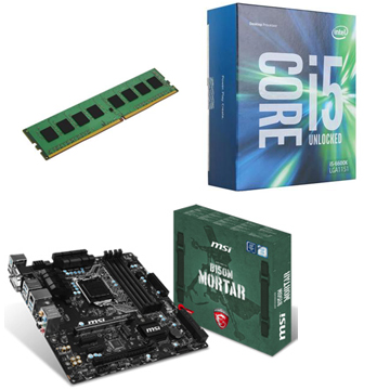 INTEL 第六代 i5 6500 + MSI B150M MORTAR + 8G()