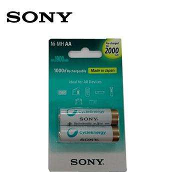 SONY新型低自放充電電池3號2入(2000mAh)(NH-AA-B2KN)