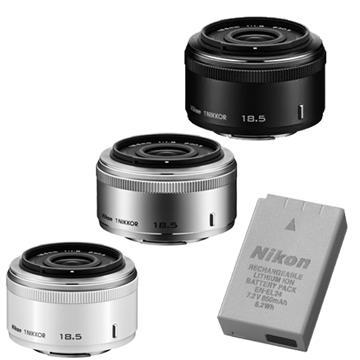 NIKON 1 NIKKOR 18.5mm/F1.8 -银(18.5mm (公司货))