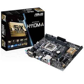 ASUS華碩 mini-ITX H110 主機板(H110M-A)