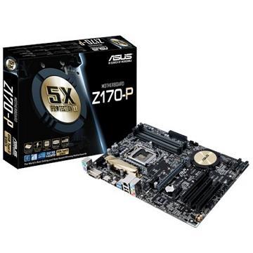ASUS華碩 ATX Z170 主機板(Z170-P)